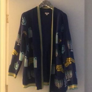 Target Xhilaration Hanukkah Sweater XXL